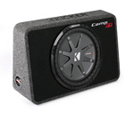 Kicker 40tcwrt122 Truck Enclosure With Single Comprt Subwoofer