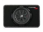 Kicker 40tcwrt102 Truck Enclosure With Single Comprt Subwoofer