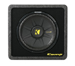 Kicker 40vcws124 Ported Enclosure With One Comps Subwoofer