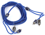 Kicker Ki24 2-channel Rca Audio Interconnect Cable