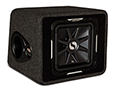 Kicker 11vs12l72 Ported Enclosure With Single  L7 Subwoofer