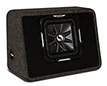 Kicker 11ts10l72 Ported Truck Enclosure With Single L7 Subwoofer