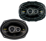Kicker 40cs6934 3-way Coaxial Car Speakers