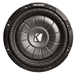 """""""Kicker CompVT 10CVT65-2 Brand New Includes One Year Warranty, The Kicker CompVT 10CVT65-2 is a 6.5"""""""" single 2 Ohm subwoofer that allows multiple wiring configurations"""