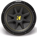 """""""Kicker Comp 10C12-4 Brand New  The Kicker Comp 10C12-4 is a 12"""""""" single 4-Ohm subwoofer that utilizes elite innovations for world-class power, durability and hard-hitting, high-performance bass"""