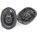 """kicker 11ds693 6""""x9"""" 3-way Speakers"""